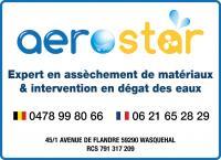 AEROSTAR, déshumidification Lille, Nord, Belgique