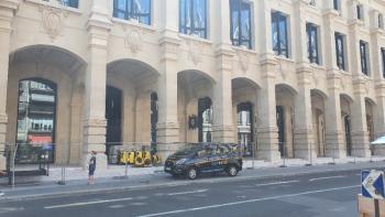Poste du Louvre: Assèchement d'une chape anhydrite avec nos déshumidificateurs professionnels