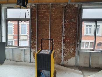 Location et mise en service d'un déshumidificateur professionnel à Paris, Lille, Reims, Amiens